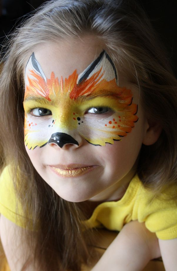 Fox Face Painting by Let's Bounce Inflatables Ltd.