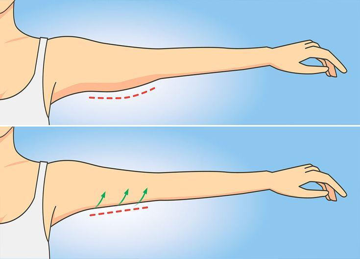 Похудеть Руки Ниже Локтя. Как похудеть в руках ниже локтя