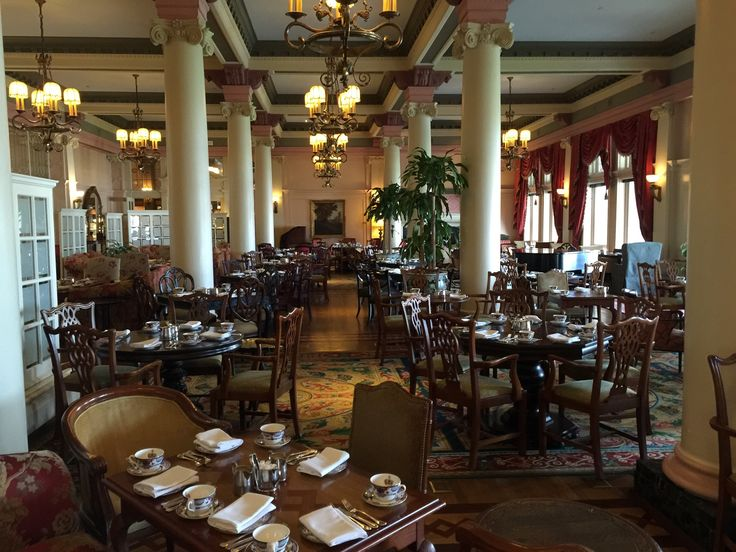 Tea Lobby At The Fairmont Empress Hotel in Victoria, BC