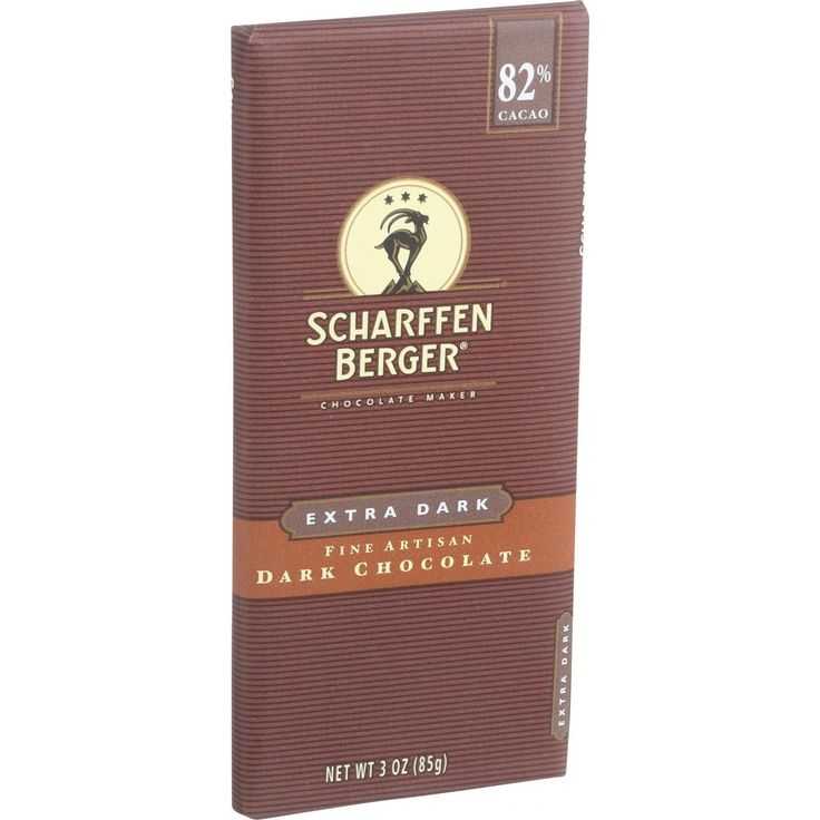 Scharffen Berger Chocolate Bar – Dark Chocolate – 82 Percent Cacao – Extra Dark …