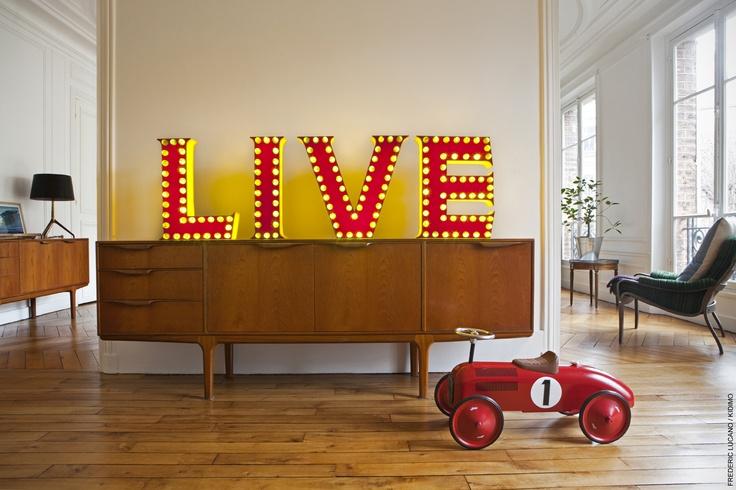 Commandez la lettre ou le mot de votre choix sur www for Living room 6 letters