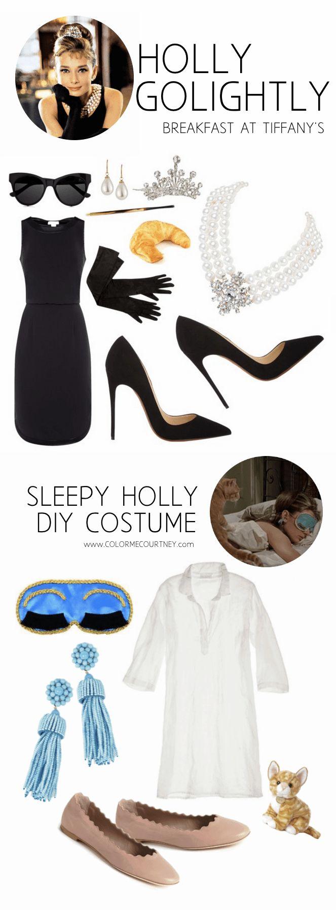 Breakfast at Tiffany's DIY Halloween costumes #falltime #howtowear
