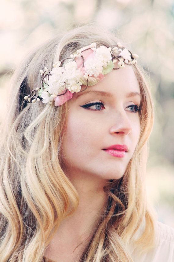 Remarkable 139 Best Images About Flower Crowns On Pinterest Flower Hairstyles For Men Maxibearus