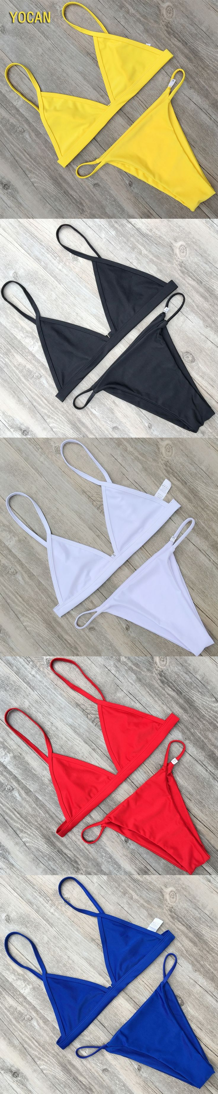 Thong Bikini Set Sexy Micro Bikini 2017 Brazilian Bikini Black Swimwear Women Bathing Suit Swimsuit Bikini Tanga Maillot De Bain