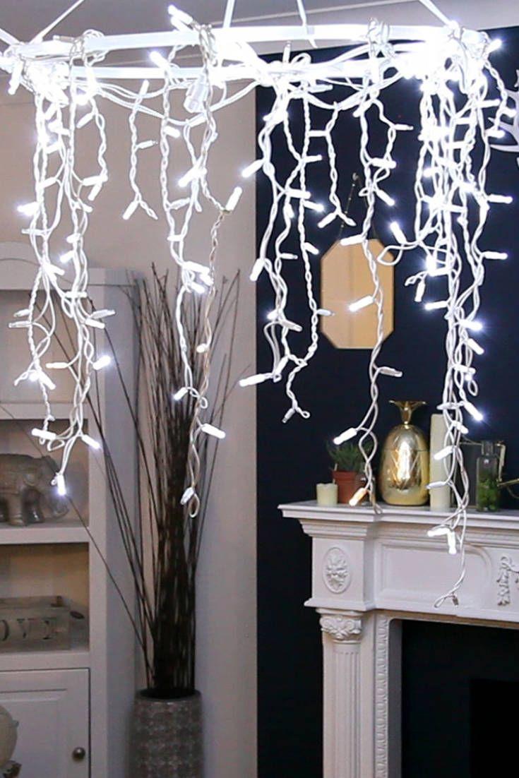 Best 25 Hula hoop chandelier ideas on Pinterest White