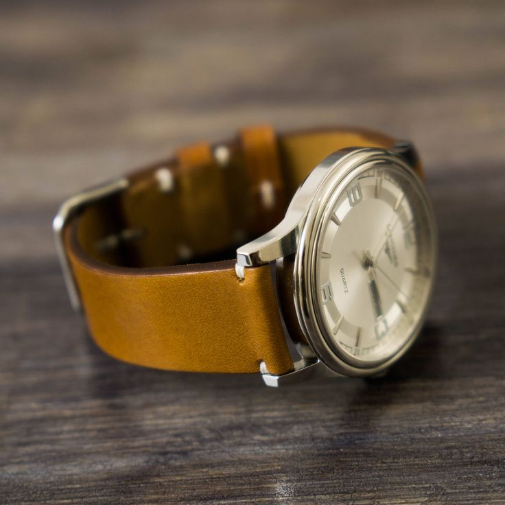 A personal favorite from my Etsy shop https://www.etsy.com/listing/501801537/leather-watch-strap-personalize-leather