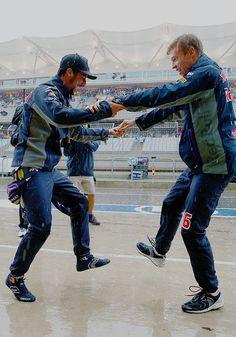 United States GP 2015 ∟ Daniel Ricciardo & Daniil Kvyat