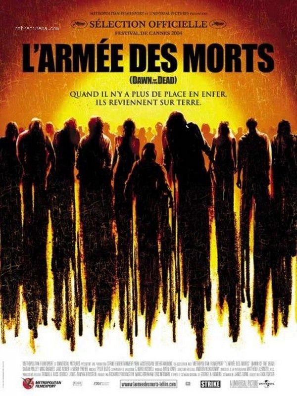 Poster L'Armée des morts 34938