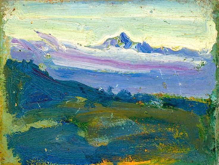 """Mount Kenya"", Akseli Gallen-Kallela, 1909"