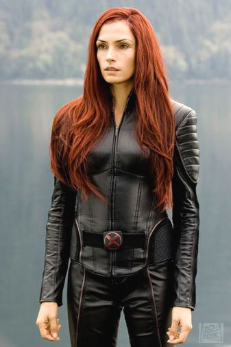 "Famke Janssen as Jean Grey/ The Pheonix in ""X-Men: The Last Stand."" Need this hair"