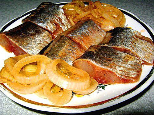 Для рыбной тарелки  Селедочка - бесподобный способ засолки. УКРАШЕНИЕ БЛЮД-15.
