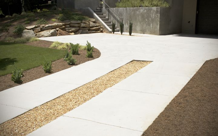17 best images about concrete driveway options on for How to pour a concrete driveway