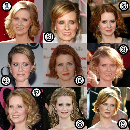 Cynthia Nixon: Her Best Hair? - Makeup and Beauty Blog ...