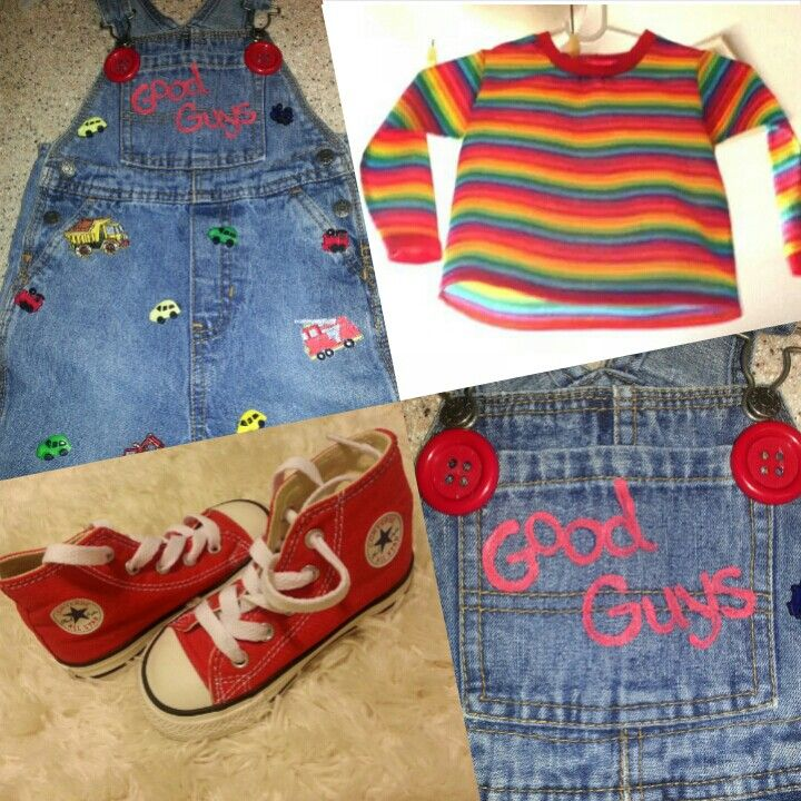 Diy toddler chuckie costume