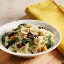 FARFALE SPINACH CHICKEN http://www.sajiansedap.com/mobile/detail/13762/farfale-spinach-chicken