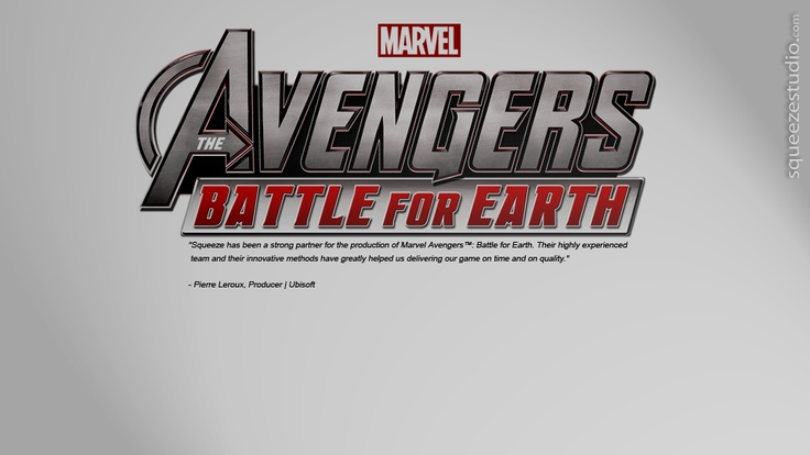 Ubisoft-Marvel | The Avengers: Battle for Earth: The Video Game