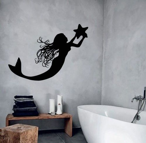 1000 ideas about mermaid bathroom decor on pinterest mermaid bathroom pirate bathroom and - Mermaid decor bathroom ...