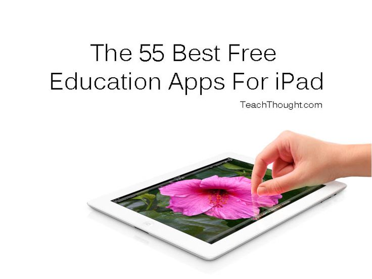 """The following is our list of the 55 best apps for learning we can find. Some are formal learning–math drilling and phonics, for example–while others are RSS readers, social media platforms, and the like. These are purposely not all purely academic, """"training"""" apps that focus on individual skills, but rather the an array of apps students could use daily to improve their ability to think, connect, and use information."""
