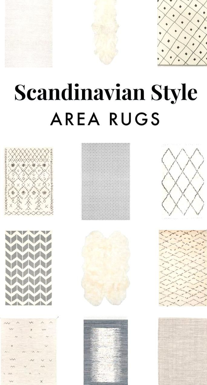 12 scandinavian style area rugs these