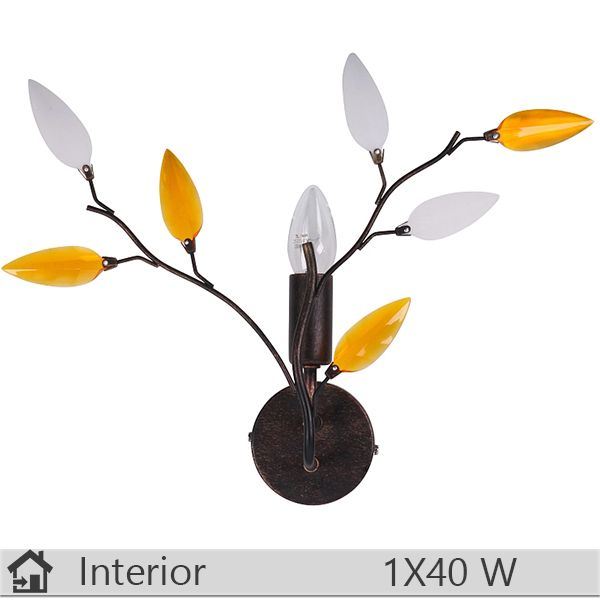 Aplica iluminat decorativ interior Rabalux, gama Lilian, model 2850 http://www.etbm.ro/rabalux