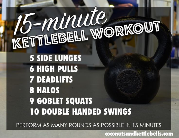15-Minute Kettlebell Workout - Coconuts and Kettlebells