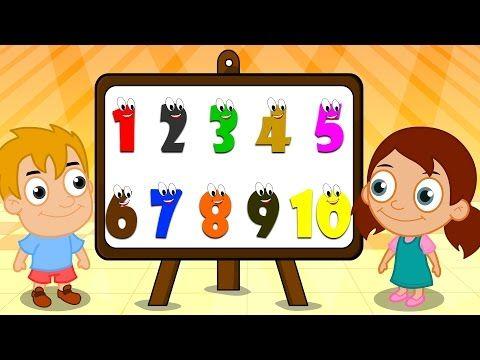 Haydi 123 Sayım Şarkısı 1'den 10'a kadar + 20 Dakika Bebek şarkıları - Balon TV - YouTube