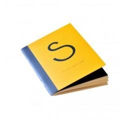 S-Simit Gevreği Defter - #tasarim #tarz #sarı #rengi #moda #hediye #ozel #nishmoda #yellow #colored #design #designer #fashion #trend #gift