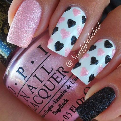 Best Valentine S Day Nails For 2018 44 Heartwarming Nail Designs