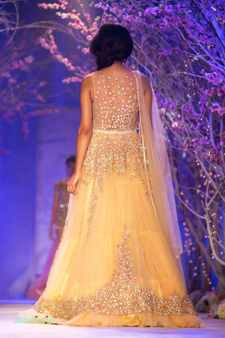 Jyotsna Tiwari at India Bridal Fashion Week 2014 | thedelhibride Indian Weddings blog