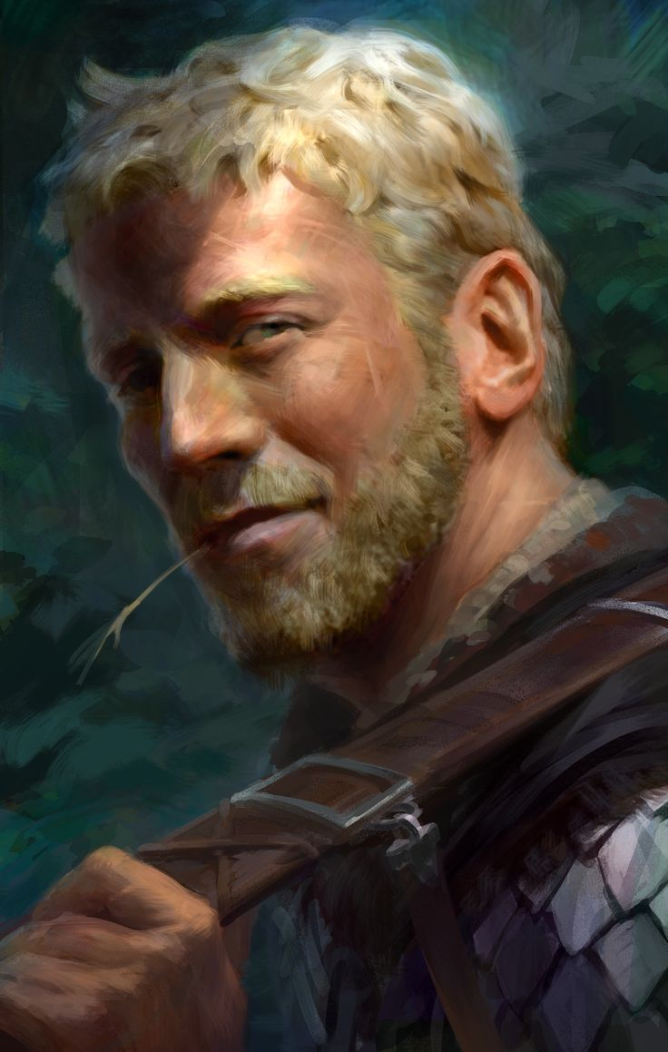 In my book, this man is an important character who father's 3 other characters who go on to become adversaries in the second book...  sweet guy, but sons not so much.