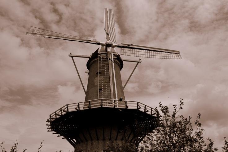 "smockmill ""the Hoop"" Hellevoetsluis, the Netherlands"