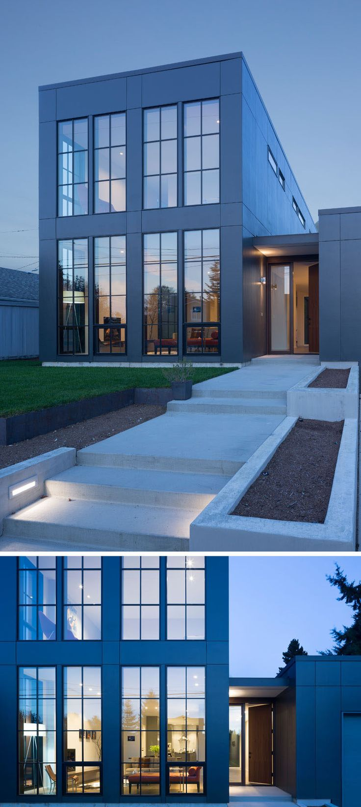 Architecture and interiors design firm Rerucha Studio, have recently completed the Magnolia House in Seattle, Washington, that's been designed with lots of light and a classic yet modern feel.