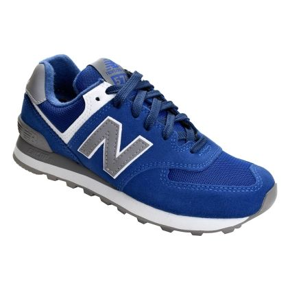 Tênis New Balance WL574VCWB - Azul/Cinza