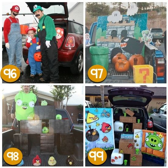 120 creative trunk or treat ideas scary halloween gameshalloween ideashalloween decorationscar