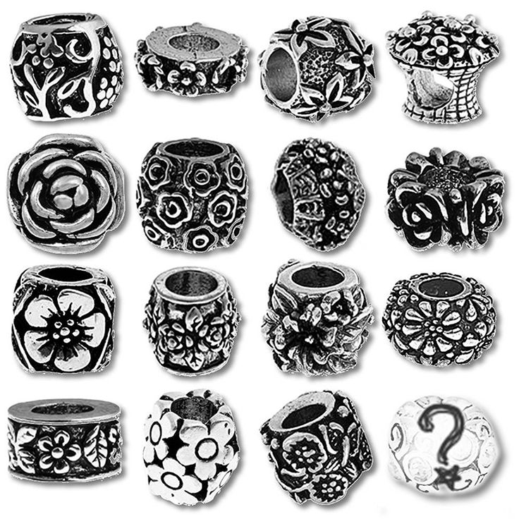 Timeline Trinketts Beads and Charms for Pandora Bracelets - Flower