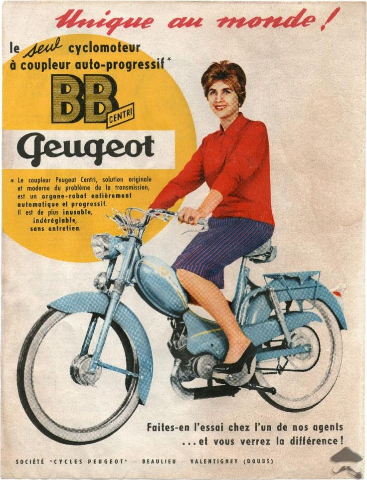Peugeot BB Moped
