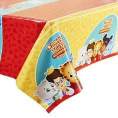 Daniel Tiger's Neighborhood Disposable Plastic Table Cover- Great Daniel Tiger Party Decoration