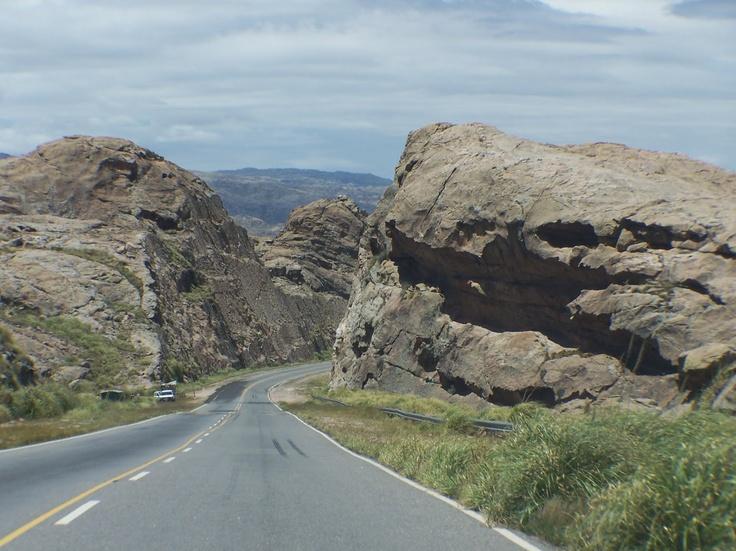 Camino de las Altas Cumbres, Cordoba, Argentina