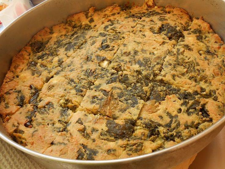 Καλαμποκόπιτα με χόρτα και ανθότυρο - http://www.zannetcooks.com/recipe/kalampokopitaxortaanthotiro/
