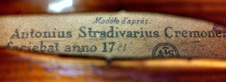 "The ""Stradivarius"" Violin Label: What it Means #strad #stradivarius #stradivari #violins #violas #cellos #label"