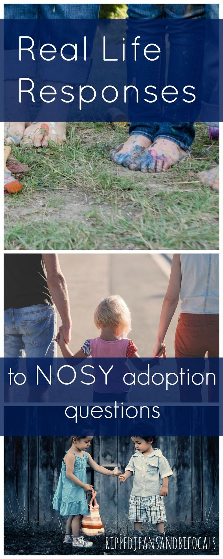 "There's a difference between ""just curious"" and rude. Here's how one mom responds to nosy adoption questions. 