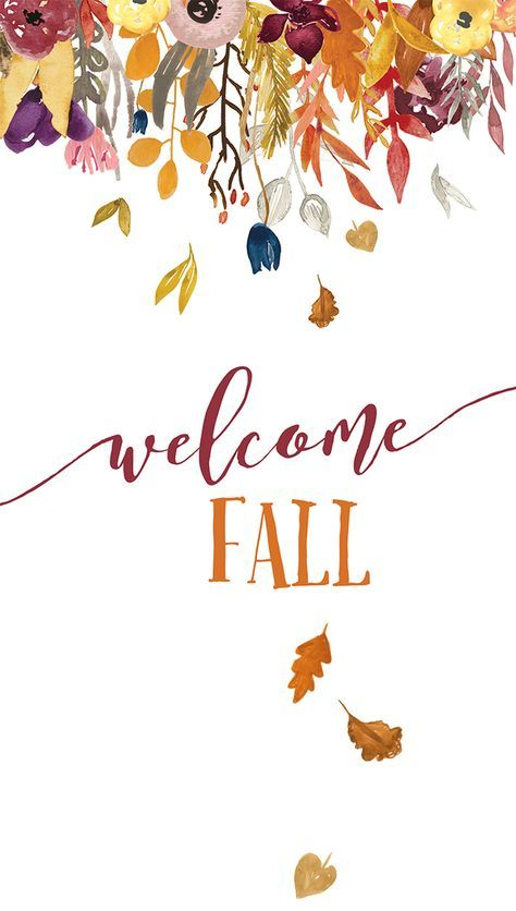 Fall iPhone wallpaper WELCOME FALL.jpg - Box
