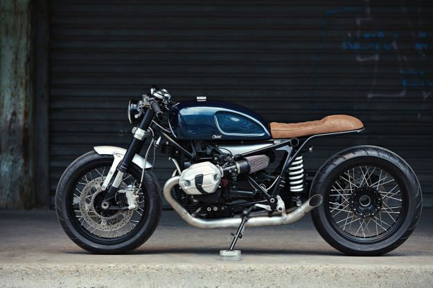 French tailoring: Clutch Customs gives the BMW R nineT a stylish new suit.