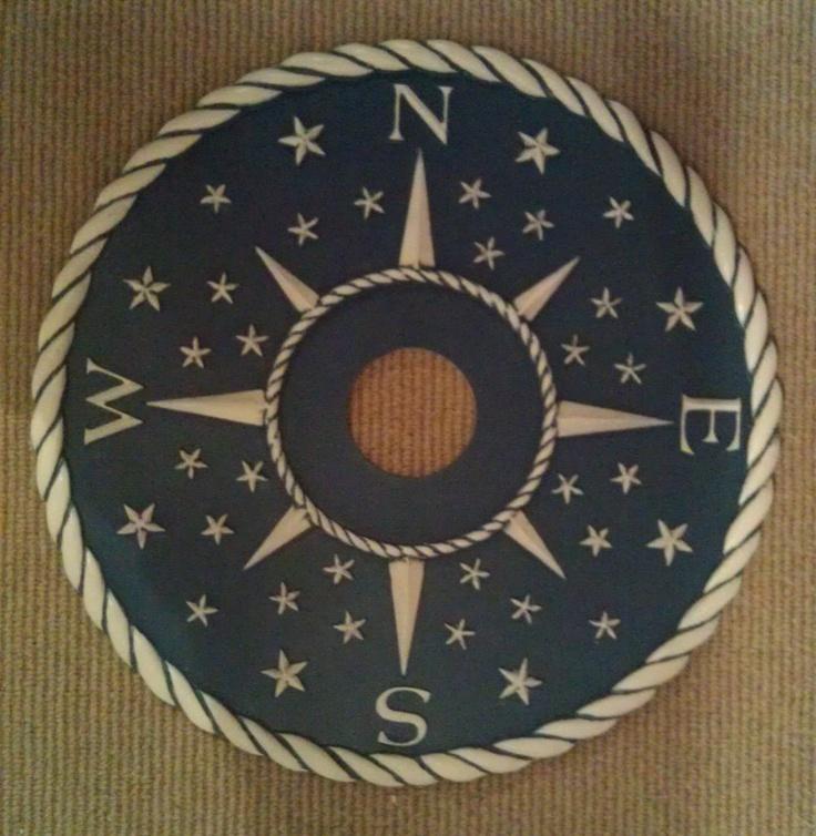 compass ceiling medallion
