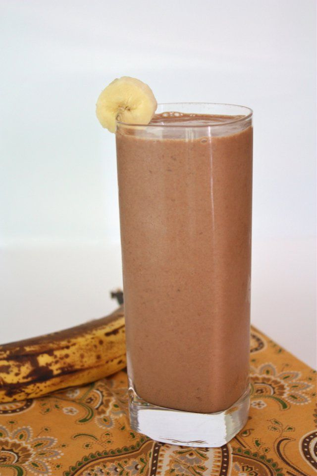 Paleo Dairy-Free Peanut Butter and Banana Smoothie