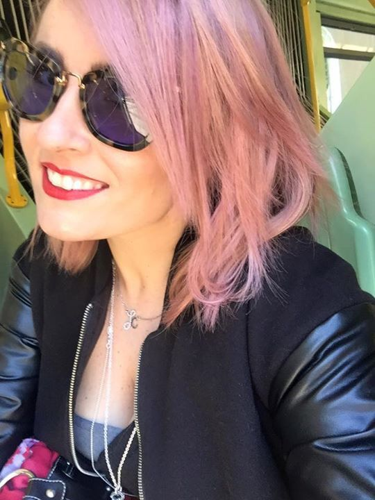 Pink hair style fashion capelli rosa outfit