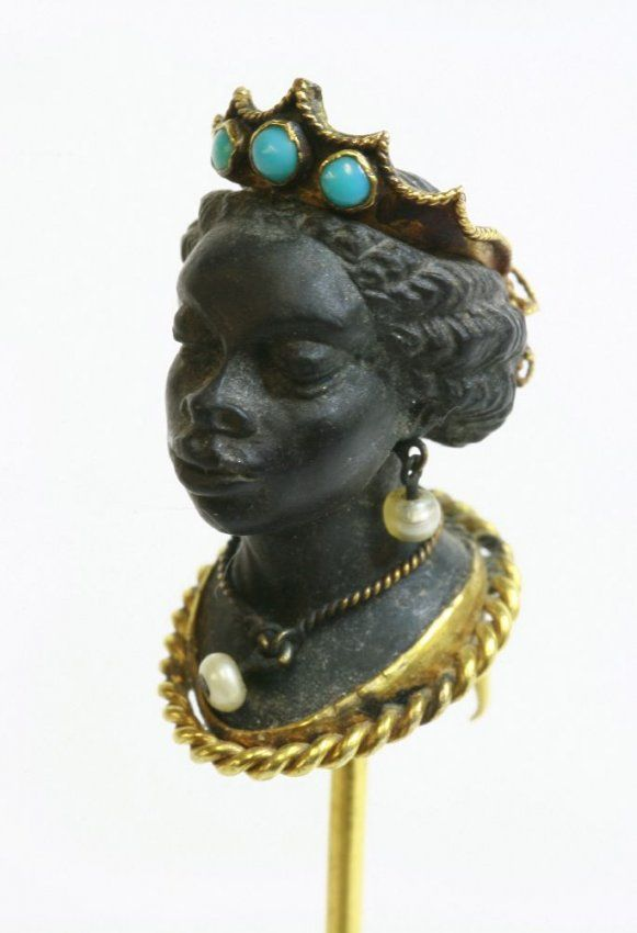 Image result for expensive blackamoor antique jewels and brooches