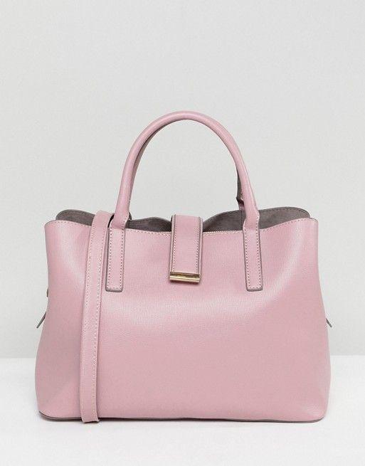 Asos Soft Pinch Lock Tote Bag