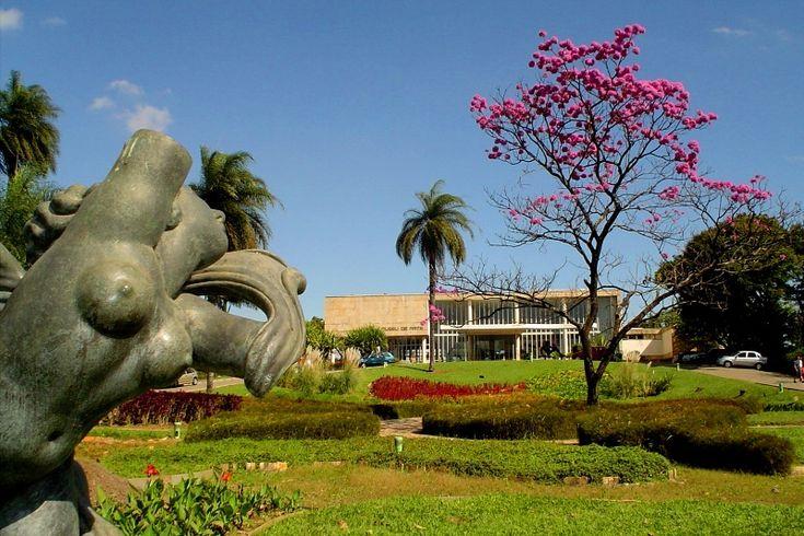 Resultado de imagem para Jardim do Aeroporto da Pampulha,