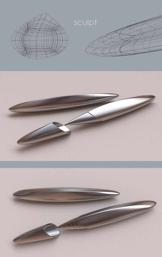 Writing Pen Concepts by Norm Edwards